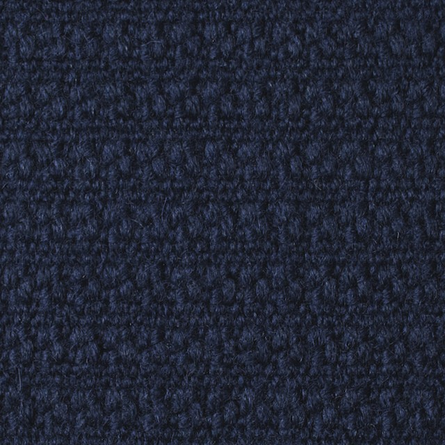 ウール×無地(ネイビー)×かわり織_全2色 イメージ1