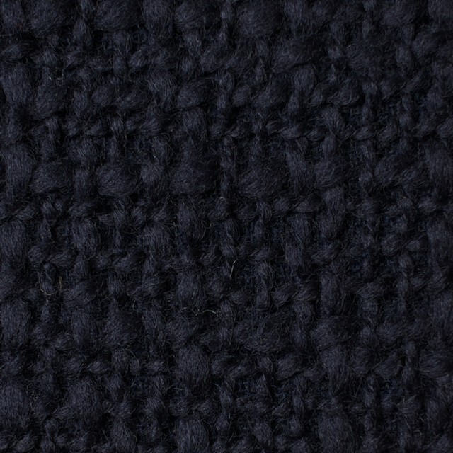 ウール×無地(ダークネイビー)×かわり織_全2色 イメージ1