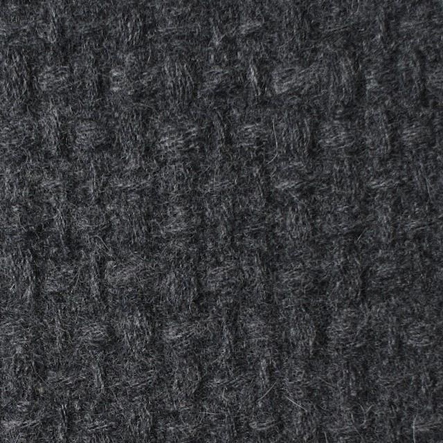 ウール×無地(チャコールグレー)×かわり織 イメージ1