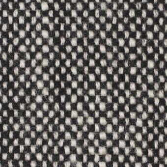 ウール×ミックス(オフホワイト&ブラック)×ツイード サムネイル1