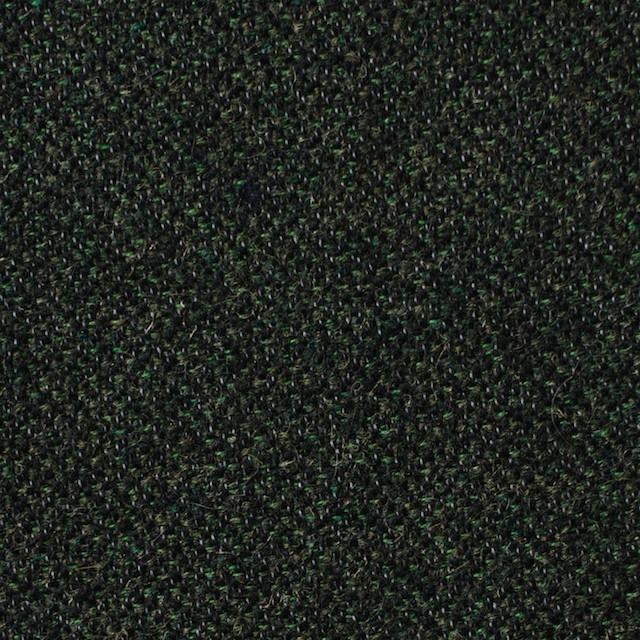 ウール&ポリエステル×ミックス(グリーン&ブラック)×ツイード イメージ1