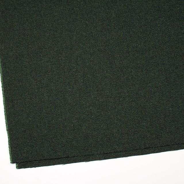 ウール&ポリエステル×ミックス(グリーン&ブラック)×ツイード イメージ2
