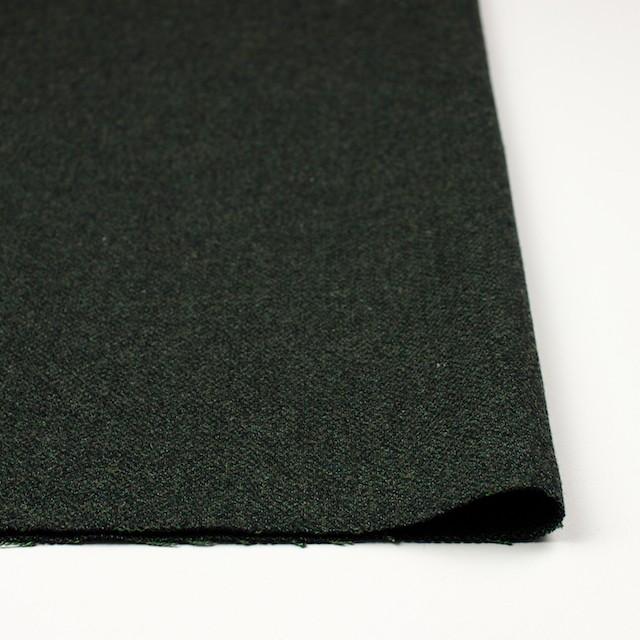 ウール&ポリエステル×ミックス(グリーン&ブラック)×ツイード イメージ3