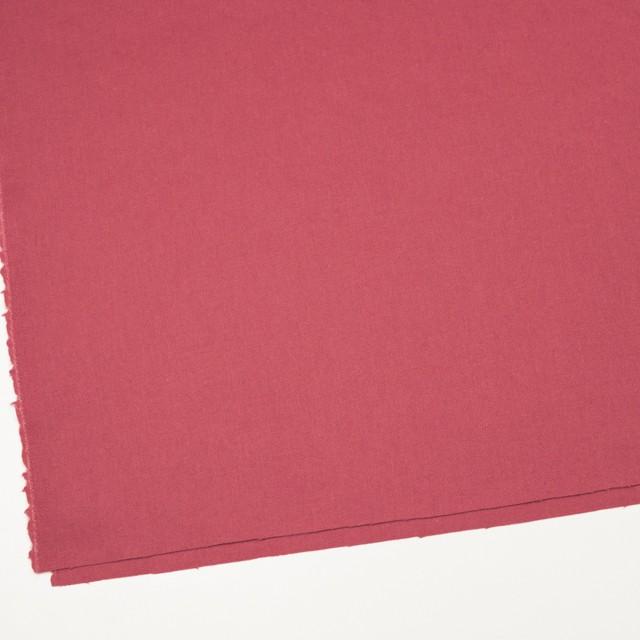 ウール×無地(ローズ)×かわり織 イメージ2