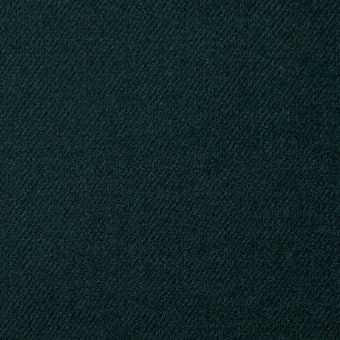 ウール×無地(ダークグリーン)×サージ サムネイル1