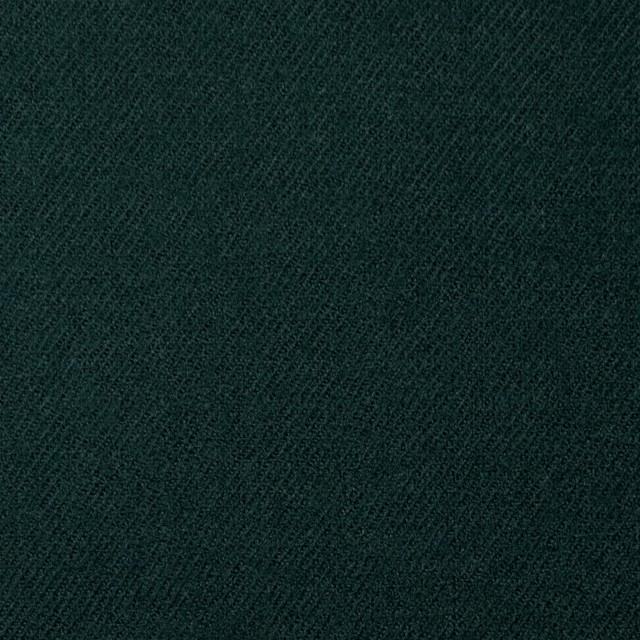 ウール×無地(ダークグリーン)×サージ イメージ1