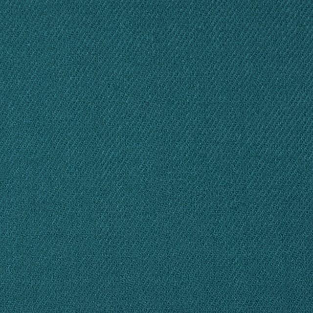 ウール&ポリウレタン×無地(ターコイズブルー)×サージ・ストレッチ イメージ1