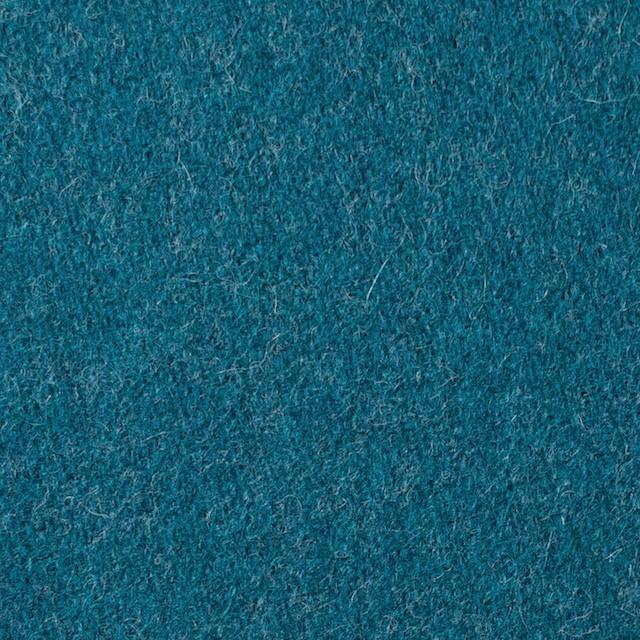 ウール&ナイロン×無地(ターコイズブルー)×二重織 イメージ1