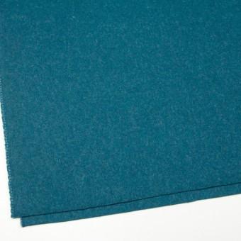 ウール&ナイロン×無地(ターコイズブルー)×二重織 サムネイル2