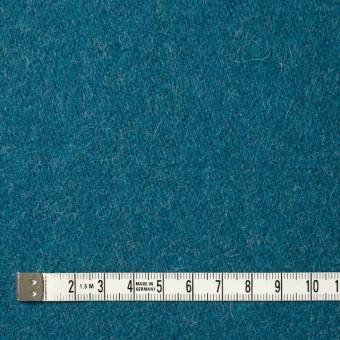 ウール&ナイロン×無地(ターコイズブルー)×二重織 サムネイル4