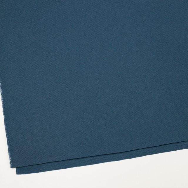 ウール×無地(ブルーグレー)×かわり織 イメージ2