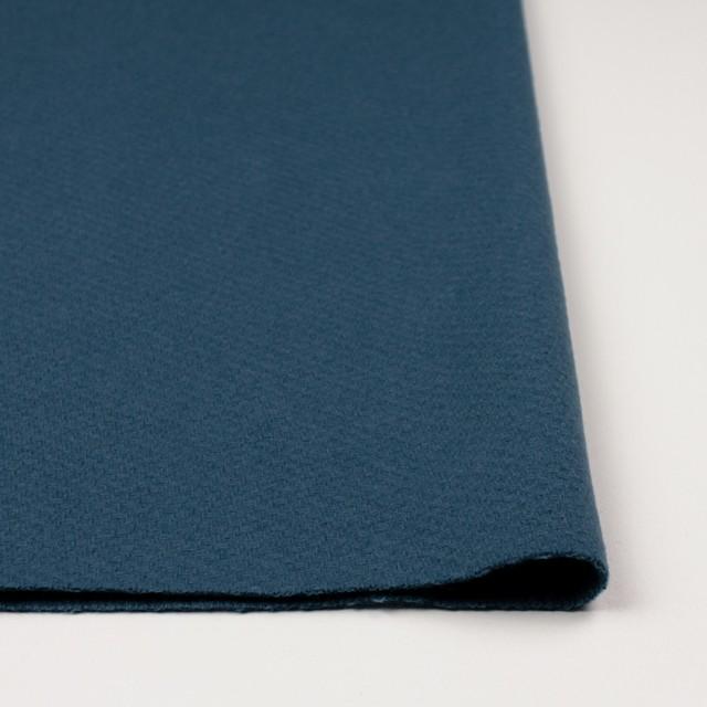 ウール×無地(ブルーグレー)×かわり織 イメージ3