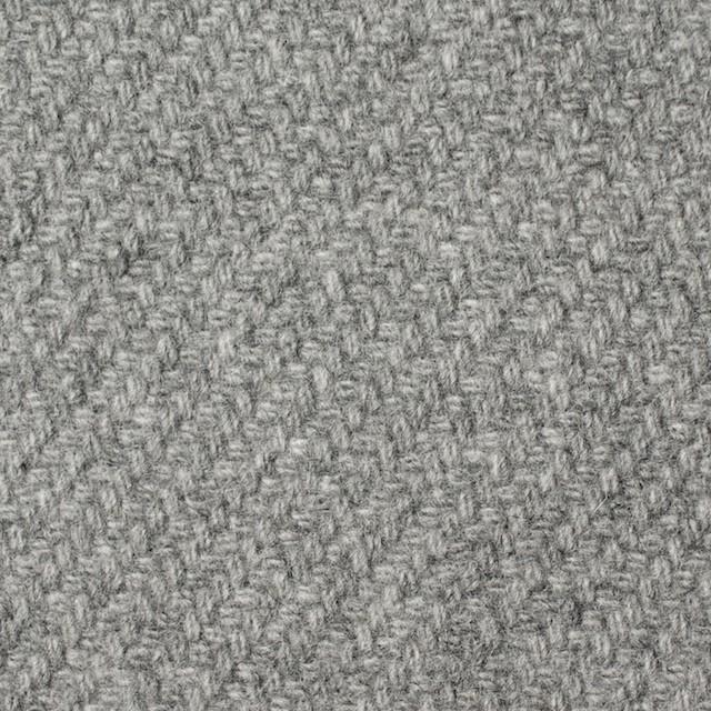 ウール×無地(ライトグレー)×カルゼ イメージ1
