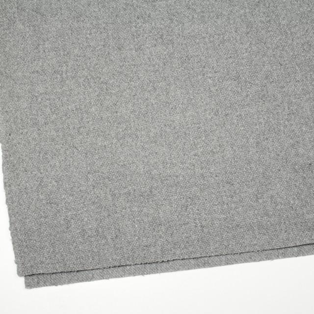 ウール×無地(ライトグレー)×カルゼ イメージ2
