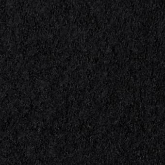 ウール×無地(ブラック)×圧縮天竺ニット_全3色