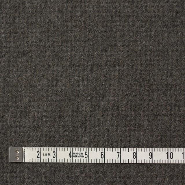 ウール×無地(モスグレー)×ツイード イメージ4