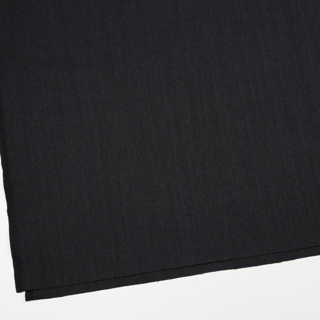 ウール×無地(チャコールブラック)×ヘリンボーン イメージ2