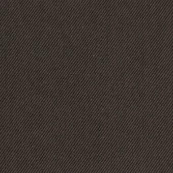 コットン&ポリノジック混×無地(アッシュブラウン)×サージストレッチ_全2色