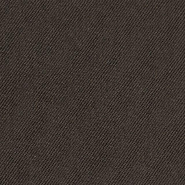 コットン&ポリノジック混×無地(アッシュブラウン)×サージストレッチ_全2色 イメージ1