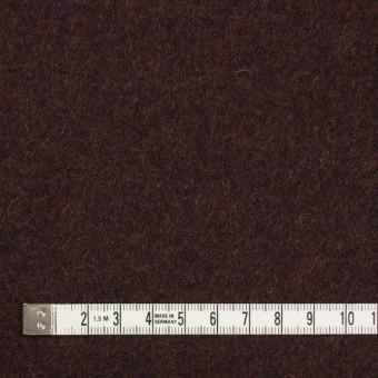 ウール×無地(マホガニー)×ツイード_イングランド製 サムネイル4