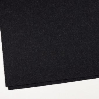 ウール×無地(チャコールブラック)×ツイード_イングランド製 サムネイル2