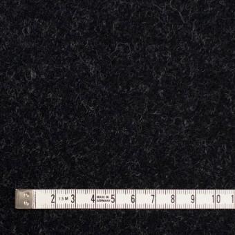 ウール×無地(チャコールブラック)×ツイード_イングランド製 サムネイル4
