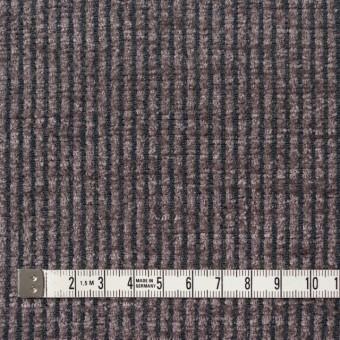 ポリエステル&レーヨン×ストライプ(グレイッシュパープル)×かわり織 サムネイル4