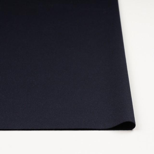 ウール&アンゴラ×無地(ダークネイビー)×フラノ(フランネル) イメージ3