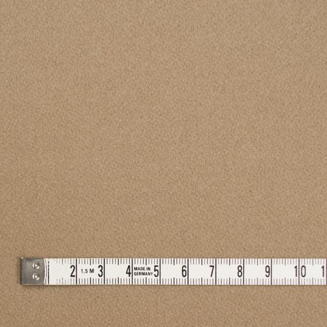 ウール×無地(ライトベージュ)×ビーバー イメージ4