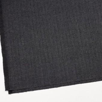 ウール&ポリエステル混×ミックス(グレー&ブラック)×ヘリンボーン・ストレッチ サムネイル2