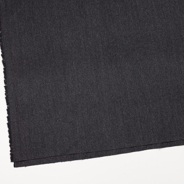 ウール&ポリエステル混×ミックス(グレー&ブラック)×ヘリンボーン・ストレッチ イメージ2