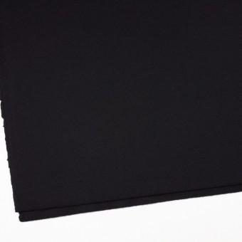 ウール×無地(ブラック)×フラノ(フランネル) サムネイル2