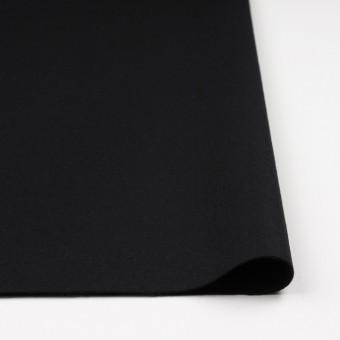 ウール×無地(ブラック)×フラノ(フランネル) サムネイル3