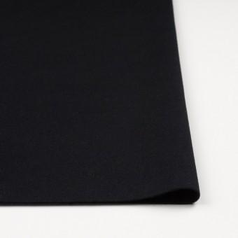 ウール&アンゴラ混×無地(ブラック)×フラノ(フランネル) サムネイル3