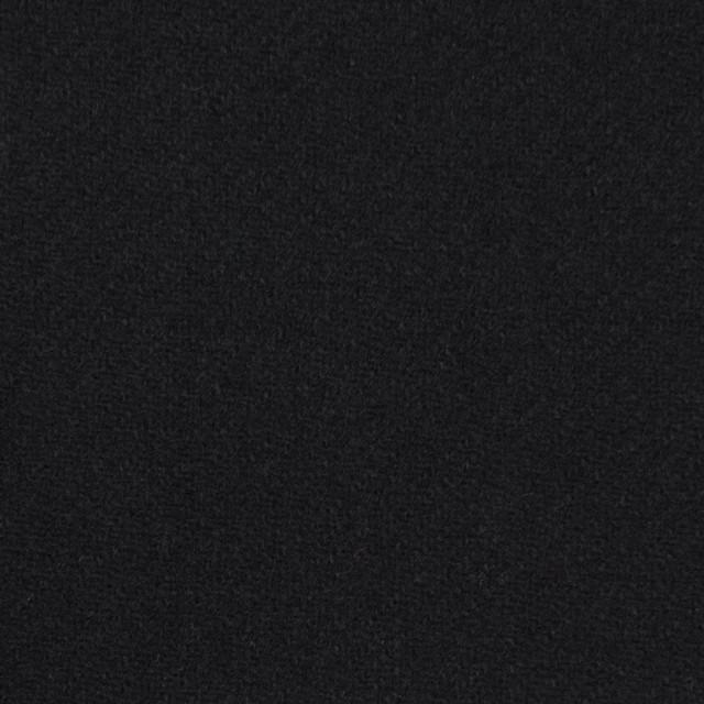 ウール×無地(ブラック)×カルゼ_イタリア製 イメージ1