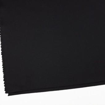 ウール×無地(ブラック)×カルゼ_イタリア製 サムネイル2