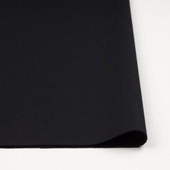 ウール×無地(ブラック)×カルゼ_イタリア製 サムネイル3