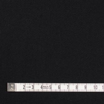 ウール×無地(ブラック)×カルゼ_イタリア製 サムネイル4