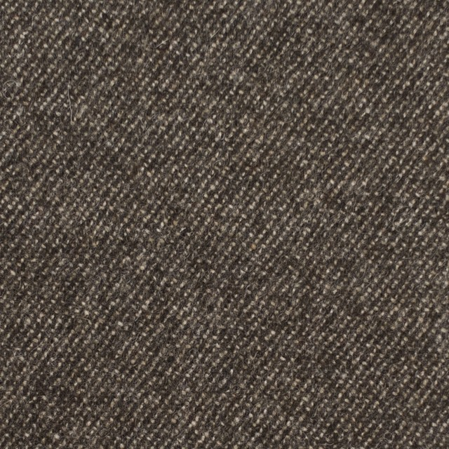 ウール&ポリウレタン×無地(ブラウンミックス)×サージストレッチ イメージ1