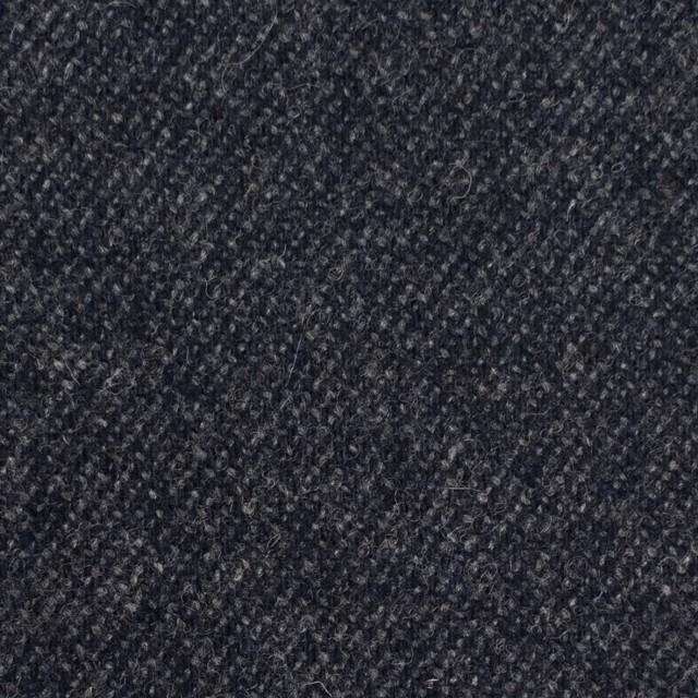 ウール&ナイロン混×無地(チャコールブラック)×サキソニーストレッチ イメージ1