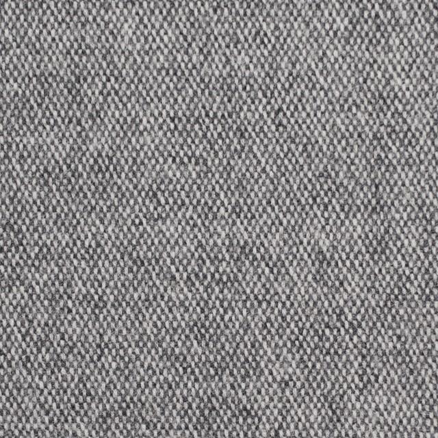 ウール&ポリエステル混×無地(グレー)×ツイードストレッチ イメージ1