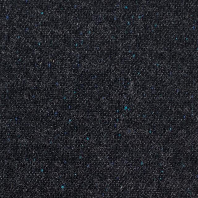 ウール&ナイロン混×無地(チャコールブラック)×ツイードストレッチ イメージ1