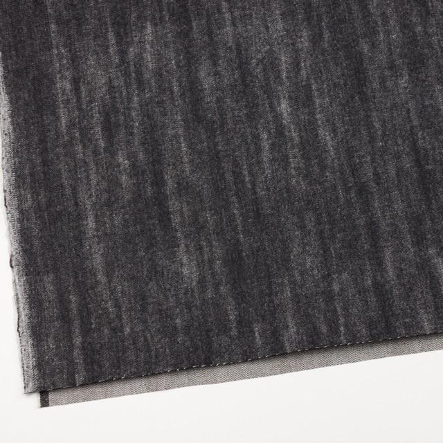 コットン×グラデーション(ブラック)×デニム イメージ2