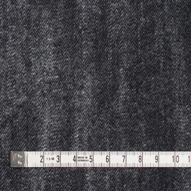 コットン×グラデーション(ブラック)×デニム イメージ4