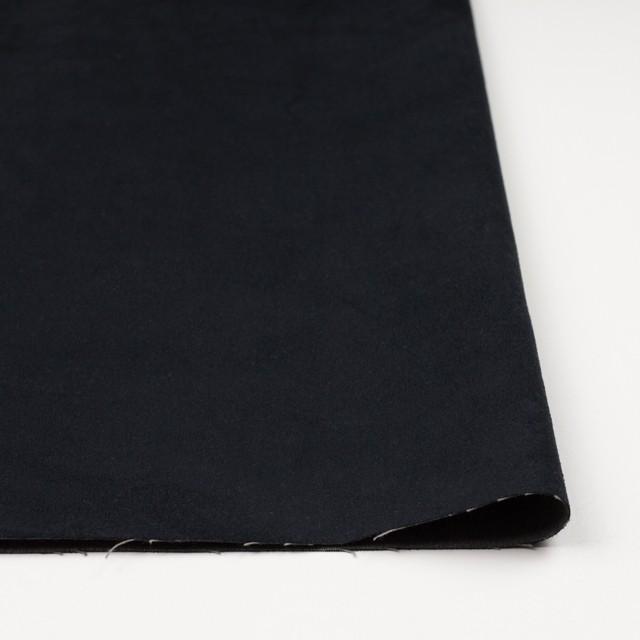 ポリエステル&コットン×無地(ブラック)×スエード(合皮) イメージ3