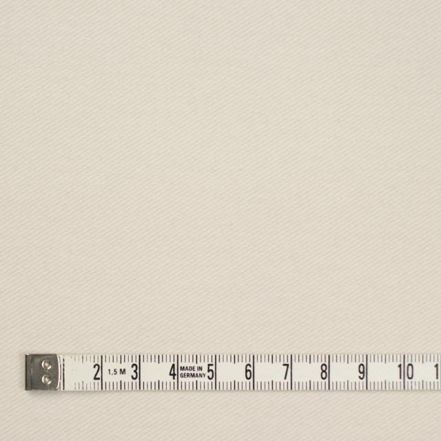 コットン&ポリウレタン×無地(アイボリー)×ビエラストレッチ_全2色 イメージ4