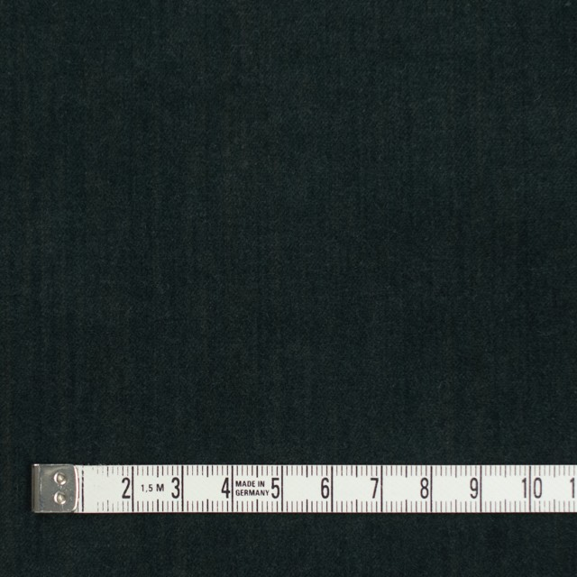 コットン&ポリウレタン×無地(ダークグリーン)×ベッチンストレッチ イメージ4