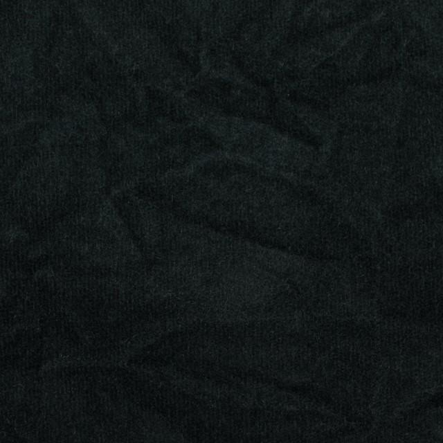 コットン&ポリウレタン×無地(ブラック)×ベッチンストレッチワッシャー イメージ1