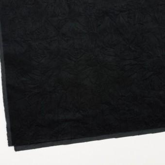 コットン&ポリウレタン×無地(ブラック)×ベッチンストレッチワッシャー サムネイル2