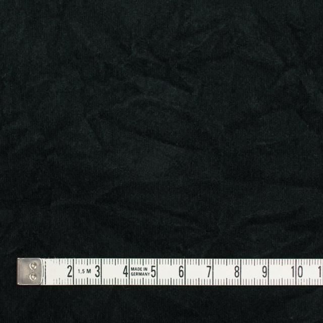 コットン&ポリウレタン×無地(ブラック)×ベッチンストレッチワッシャー イメージ4